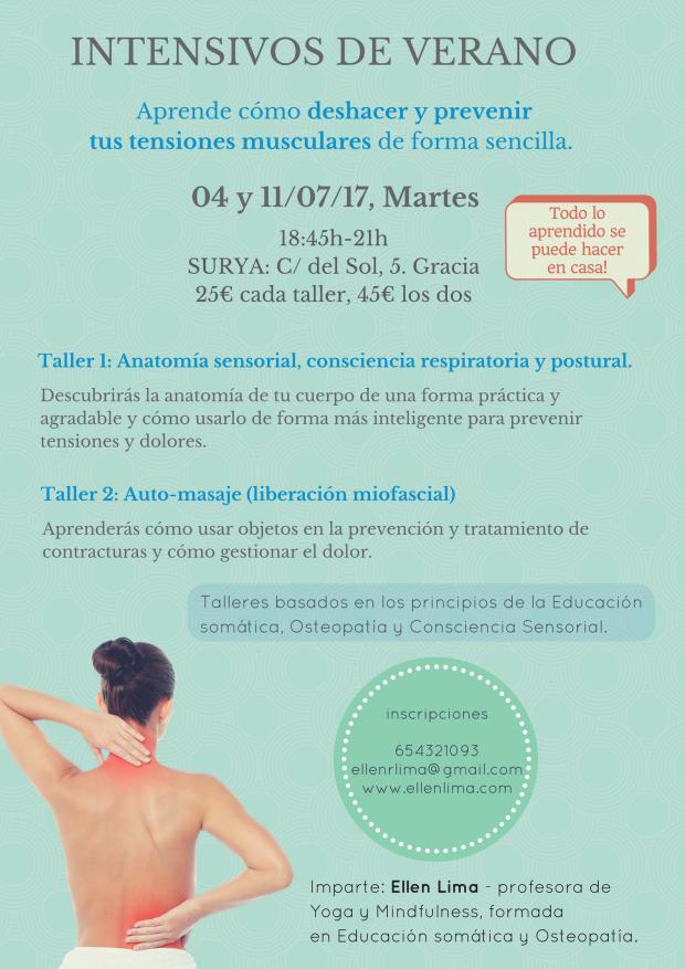 Auto-masaje y conciencia postural